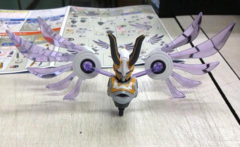 LBX ルシファー ダンボール戦機 プラモデル バンダイ