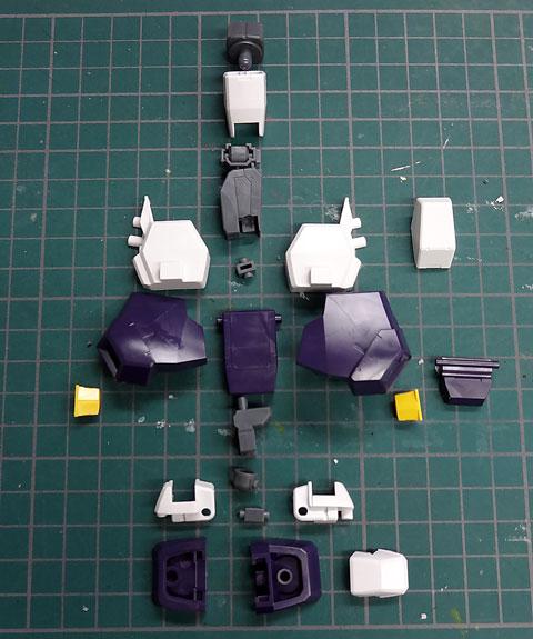 HG 1/144 ガンダムAGE-3 フォートレス プラモデル サンプル製作レビュー タギミ
