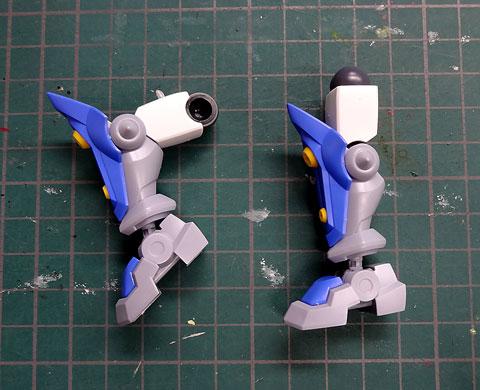 LBX アキレスD9 プラモデル サンプル製作レビュー タギミ