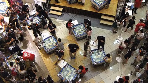 ライディングソーサアルテミス2012 大阪大会 イオンモール大日 ダンボール戦機W
