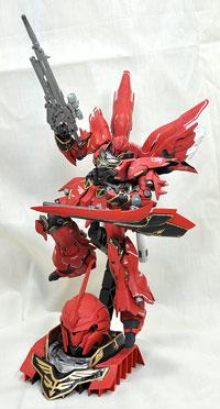 No.02 紅 ジュニア部門 第10回 キャラクタープラモデルコンテスト