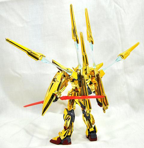 No.07 HG シラヌイアカツキガンダム シニア部門 第10回 キャラクタープラモデルコンテスト