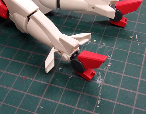 HG クランシェ プラモデル サンプル製作レビュー 機動戦士ガンダムAGE バンダイ