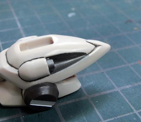 LBX ドットフェイサー プラモデル サンプル 製作レビュー ダンボール戦機WARS