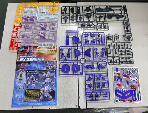 LBX ジェネラル プラモデル サンプル 製作レビュー ダンボール戦機 バンダイ