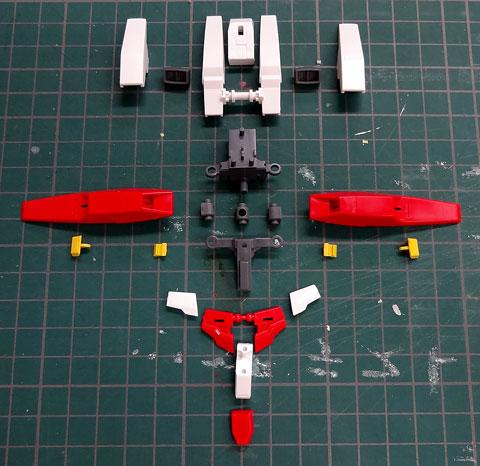 HG 1/144 ガンダムAGE-3オービタル プラモデル サンプル 製作 レビュー