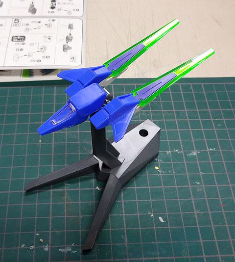 HG 1/144 ガンダムAGE-FX サンプル製作レビュー プラモデル 機動戦士ガンダムAGE