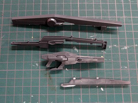 HG 1/144 ガンダムAGE-FX プラモデル サンプル製作レビュー 機動戦士ガンダムAGE バンダイ