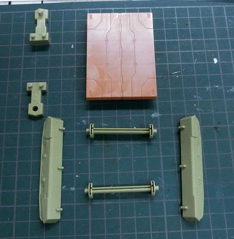 D-スタイル グスタフ プラモデル サンプル製作レビュー タギミ