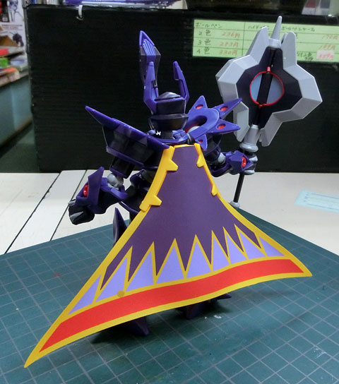 ハイパーファンクション LBX エンペラー プラモデル サンプル製作レビュー タギミ