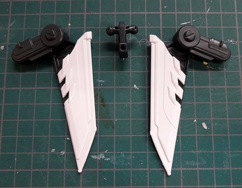 LBX イカロスフォース プラモデル サンプルレビュー ダンボール戦機W バンダイ