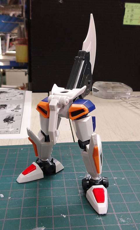 LBX イカロスゼロ プラモデル サンプルレビュー ダンボール戦機W