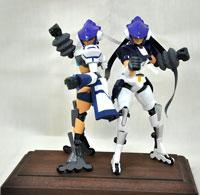No.04 sisters 第2回 ダンボール戦機LBXプラモデルコンテスト