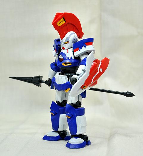 No.07 アキレスディード 宇崎拓也専用機 第2回 ダンボール戦機LBXプラモデルコンテスト