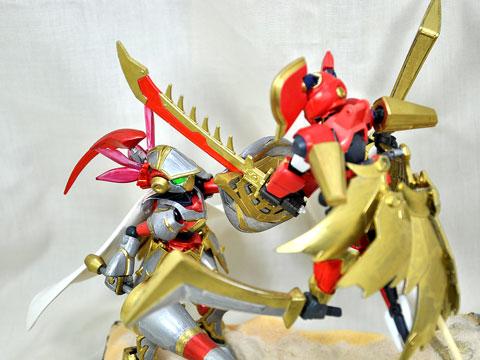 No.14 強襲! ドゥルガー VS ヴァルキューレ 第2回 ダンボール戦機LBXプラモデルコンテスト
