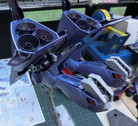 HGUC 1/144 メッサーラ サンプル製作レビュー プラモデル バンダイ タギミ