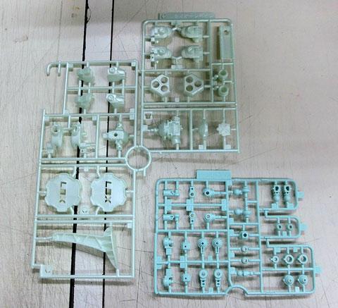 LBX ミゼルオーレギオン プラモデル サンプル製作レビュー タギミ