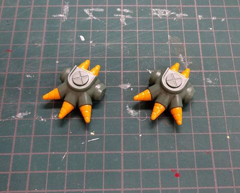 ビルダーズパーツHD MSスパイク 01 サンプル製作 レビュー ダンボール戦機 バンダイ