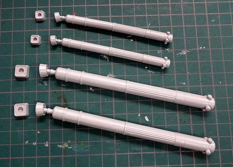 MSタンク01 ビルダーズパーツHD プラモデル サンプル製作レビュー バンダイ