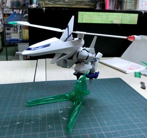 LBX オーディーンMk-2 プラモデル サンプル製作レビュー ダンボール戦機W タギミ
