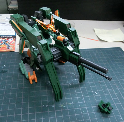 LBX オーヴェイン プラモデル サンプル製作レビュー ダンボール戦機WARS タギミ