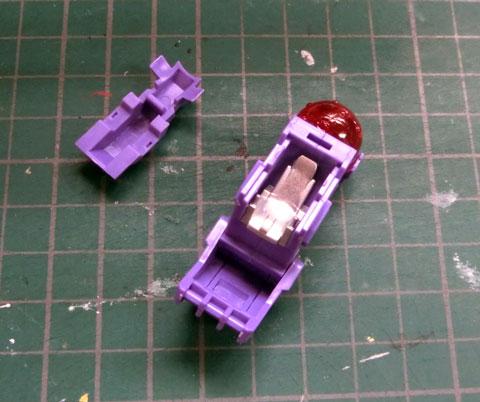 1/72 サイコ・ジェノザウラー プラモデル サンプル製作レビュー タギミ