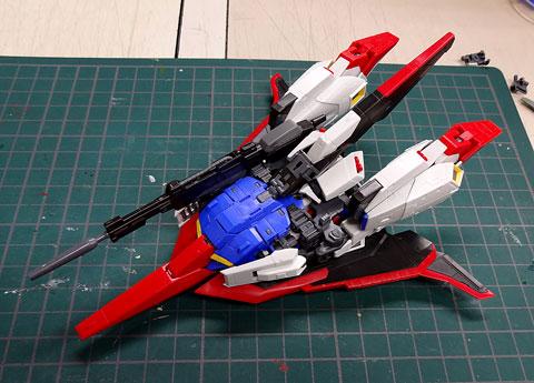 RG 1/144 Zガンダム プラモデル サンプル製作レビュー タギミ