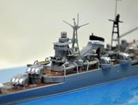 No.01 1/700 日本軽巡洋艦 熊野 参加作品 第4回艦船プラモデルコンテスト