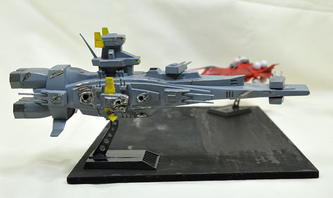 No.03 ア・バオア・クーの攻防 プラモデル 参加作品 第4回艦船プラモデルコンテスト タギミ