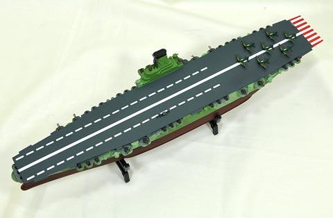 No.08 走る信濃 プラモデル 参加作品 第4回艦船プラモデルコンテスト タギミ