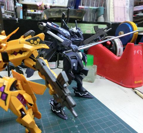1/144 不知火・弐型 タリサ・マナンダル機 プラモデル サンプル製作レビュー タギミ