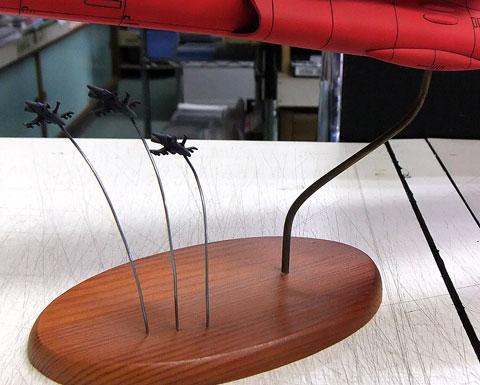 ディスプレイスタンド プラモデル 自作 文具とプラモの店 タギミ
