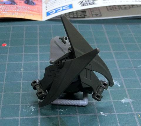 LBX バル・スパロス プラモデル サンプル製作レビュー ダンボール戦機WARS バンダイ タギミ
