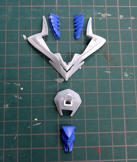 LBX ゼウス プラモデル サンプル製作レビュー ダンボール戦機W バンダイ