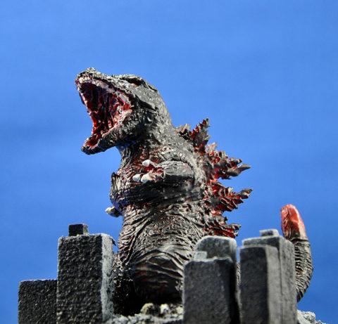 No.18 シン・ゴジラ(イメージ) 第14回キャラクタープラモデルコンテスト