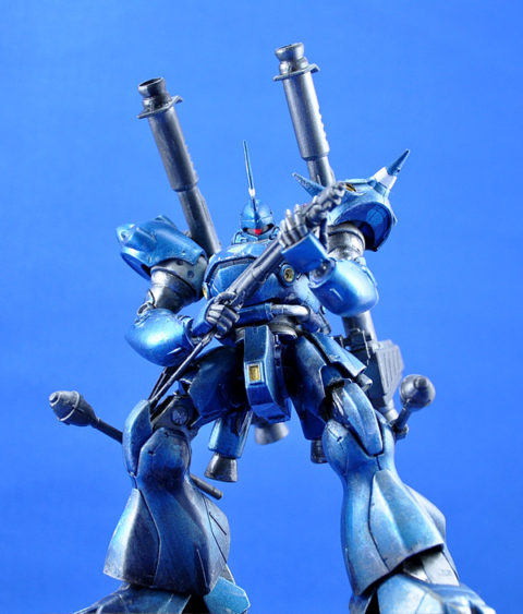 No.23 光輝く戦士ケンプファー 第14回キャラクタープラモデルコンテスト